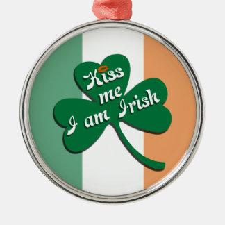 私によってがアイルランド語である私に接吻して下さい メタルオーナメント