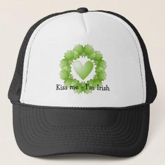 私によってがアイルランド語である私に接吻して下さい-設計して下さい(カスタマイズ可能) キャップ