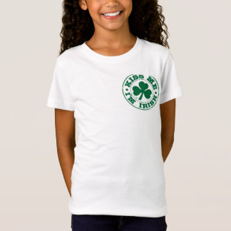 私によってがアイルランド語である私に接吻して下さい Tシャツ