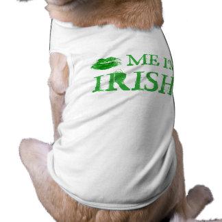 私によってがアイルランドSt.ハンバーグ日である私に接吻して下さい ペット服
