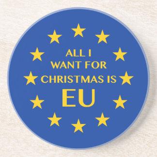 私によってがクリスマスのためにほしいすべてはEUです コースター