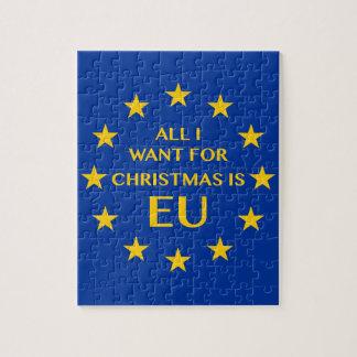 私によってがクリスマスのためにほしいすべてはEUです ジグソーパズル