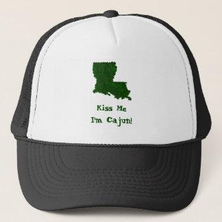 私によってがケージャンのセントパトリックのシャムロックの帽子である私に接吻して下さい キャップ