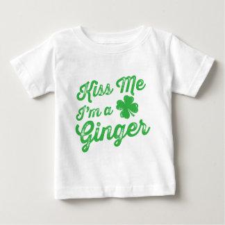 私によってがショウガである私に接吻して下さい! ベビーTシャツ