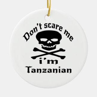 私によってがタンザニアである私をおびえさせないで下さい セラミックオーナメント