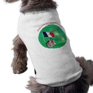 私によってがフランスのなペット衣類である私に接吻して下さい ペット服