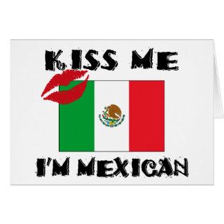 私によってがメキシコである私に接吻して下さい カード