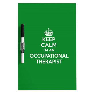 私によってが作業療法士OTのギフトである平静を保って下さい ホワイトボード
