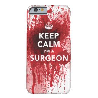 私によってが外科医の血のiPhone6ケースである平静を保って下さい iPhone 6 ベアリーゼアケース
