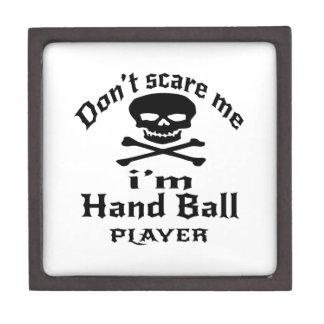 私によってが手球プレーヤーである私をおびえさせないで下さい ギフトボックス