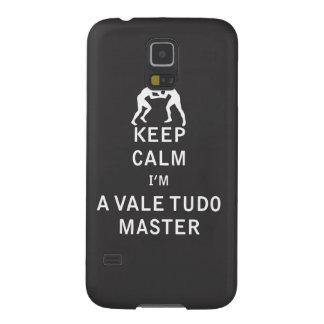 私によってが谷のTudoのマスターである平静を保って下さい Galaxy S5 ケース