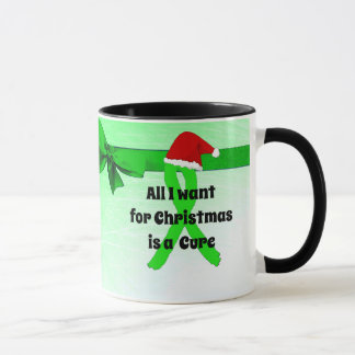 私によってがChirstmasのためにほしいすべては治療のLymeのコップです マグカップ