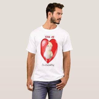 私によってがCockatielである私に接吻して下さい Tシャツ
