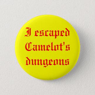 私によってはキャメロットの地下牢が脱出しました 缶バッジ