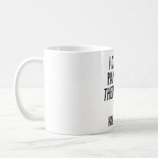 私によっては私の絵画が夢を見、それから私の夢を絵を描きます コーヒーマグカップ