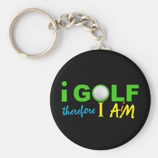私によってはkeychainがゴルフをします キーホルダー