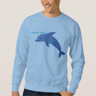 私により多くのdolおもしろいのスエットシャツがあります スウェットシャツ