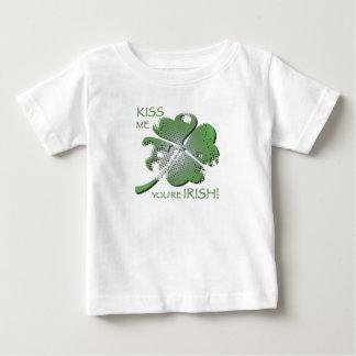 私にアイルランド語あなたは接吻して下さい! ベビーTシャツ