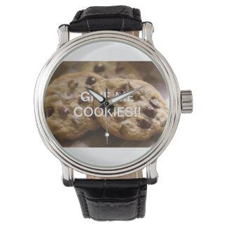 私にクッキーを与えて下さい!! 腕時計