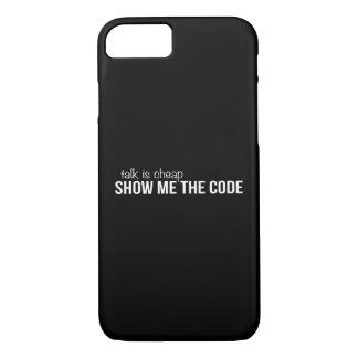 私にコードを示して下さい iPhone 8/7ケース