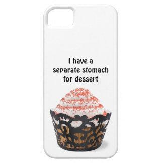 私にデザートのiphoneの場合のための別の胃があります iPhone SE/5/5s ケース