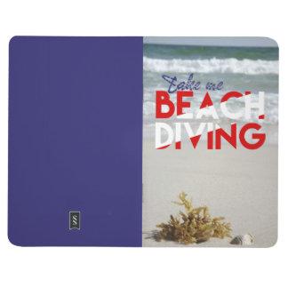 私にビーチのダイビングを取って下さい ポケットジャーナル