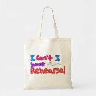 私にリハーサルのバッグがあります トートバッグ