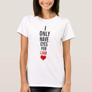 私にリーアムのための目だけがあります Tシャツ