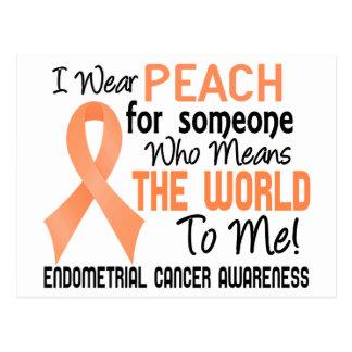 私に世界を2 Endometrial蟹座意味します ポストカード
