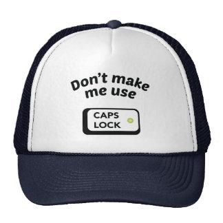 私に使用CAPSロックをしないで下さい キャップ
