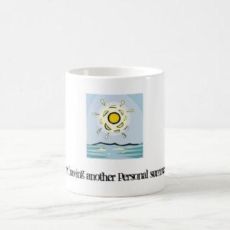 私に個人的な夏のマグがあっています コーヒーマグカップ