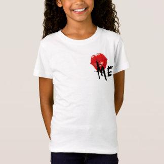 私に女の子のティー接吻して下さい Tシャツ