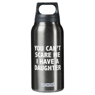 私に娘がいる私をおびえさせることができません 断熱ウォーターボトル