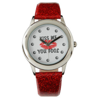 私に愚か者の猛烈な唇接吻して下さい 腕時計