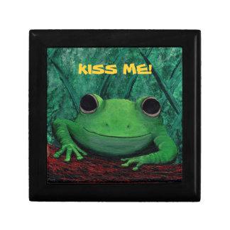 私に接吻して下さい! (カエルのデザインの) ~ ギフトボックス