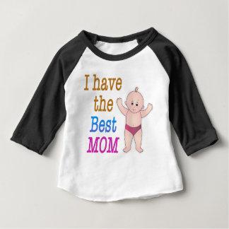 私に最も最高のなお母さんがあります ベビーTシャツ