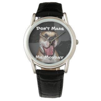 私に月曜日をしないで下さい 腕時計
