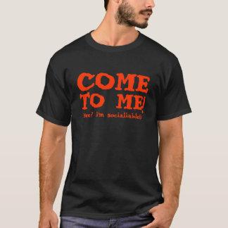 私に来られる Tシャツ