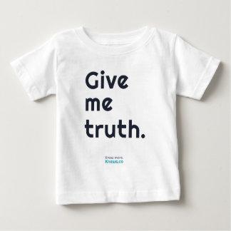 私に真実を与えて下さい ベビーTシャツ