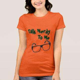 私に真面目な話女性のワイシャツ Tシャツ