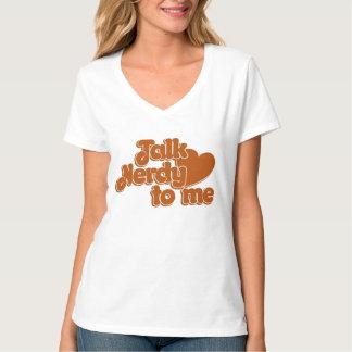 私に真面目な話 Tシャツ
