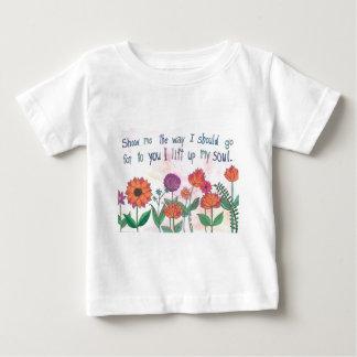 私に私が行くべきである方法を示して下さい ベビーTシャツ