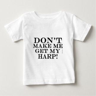 私に私のハープを得させます ベビーTシャツ