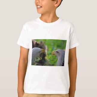 私に聞いているあります Tシャツ