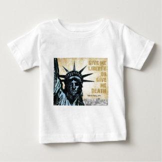 私に自由を与えて下さい ベビーTシャツ
