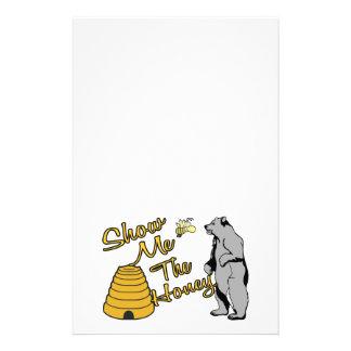 私に蜂蜜を示して下さい 便箋