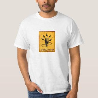 私に話して下さい Tシャツ