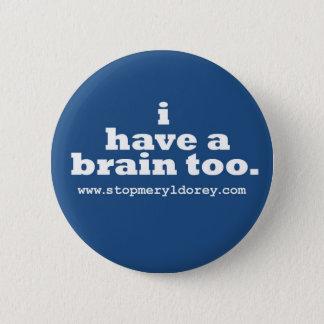 """""""私に頭脳が""""青いバッジ余りにあります 缶バッジ"""