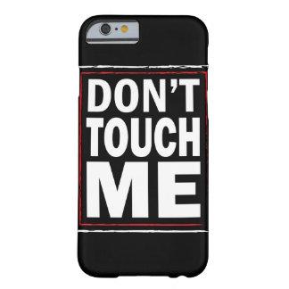 私に黒いiphone 6カバー触れないで下さい barely there iPhone 6 ケース