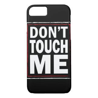私に黒いiPhone 7カバー触れないで下さい iPhone 8/7ケース